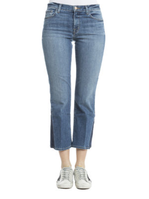 J Brand: bootcut jeans online - Selena crop boot jeans