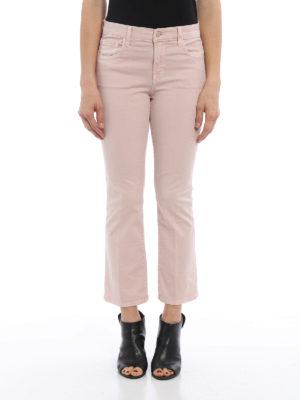 J Brand: bootcut jeans online - Selena crop jeans