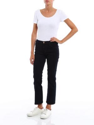 J Brand: bootcut jeans online - Selena skinny crop bootcut jeans