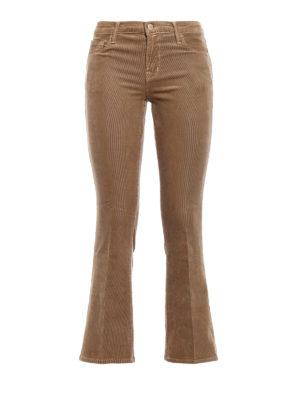 J Brand: bootcut jeans - Selena corduroy bootcut jeans