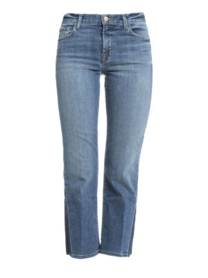 J Brand: bootcut jeans - Selena crop boot jeans