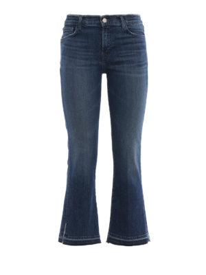 J BRAND: jeans bootcut - Jeans bootcut Selena a vita media