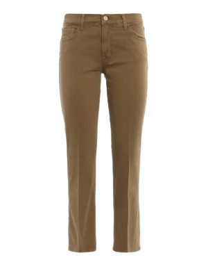 J Brand: bootcut jeans - Selena mid rise crop jeans