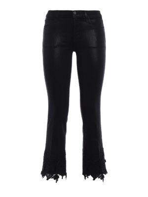 J Brand: bootcut jeans - Selena skinny bootcut crop jeans