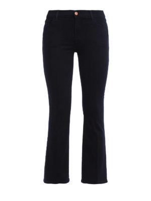J Brand: bootcut jeans - Selena skinny crop bootcut jeans