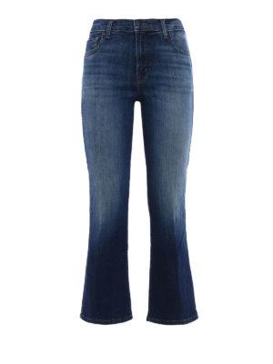 J Brand: Boyfriend - Aubrie high rise crop jeans