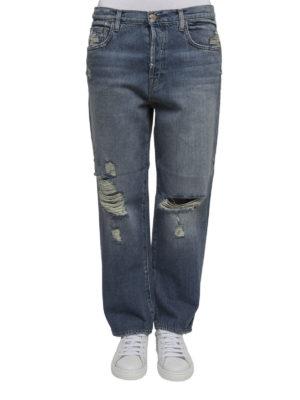 J Brand: Boyfriend online - Ivy distressed jeans