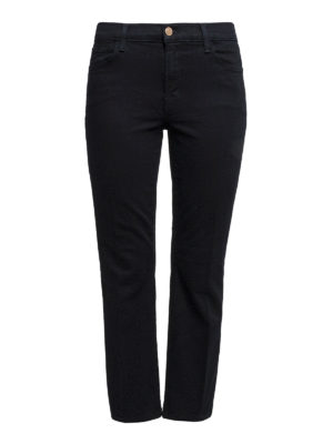 J Brand: casual trousers - Cotton blend crop trousers
