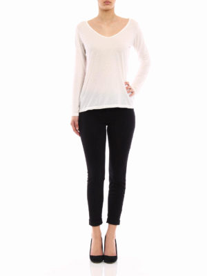 J Brand: casual trousers online - Anja sateen trousers