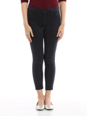 J Brand: casual trousers online - Anja satin trousers