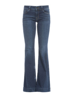 J Brand: flared jeans - Love Story flared jeans