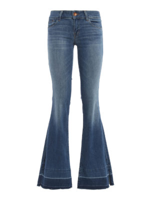 J Brand: flared jeans - Love Story jeans