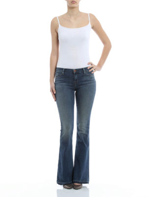 J Brand: flared jeans online - Ashbury jeans