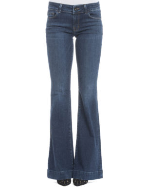 J Brand: flared jeans online - Love Story flared jeans