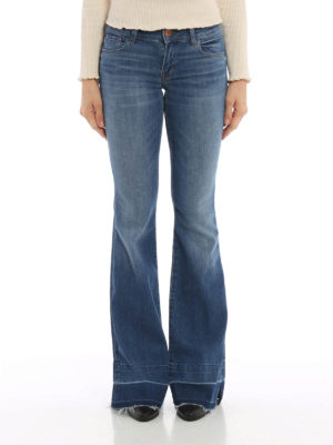 J Brand: flared jeans online - Love Story jeans