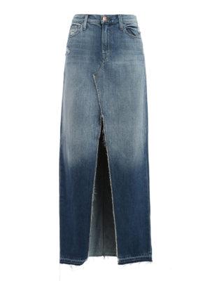 J Brand: Long skirts - Trystan denim maxi skirt