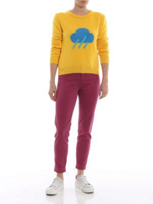 J BRAND: pantaloni casual online - Pantaloni Anja in rasatello stretch