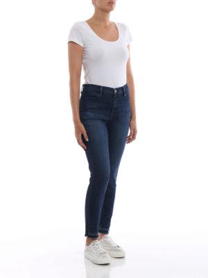 J BRAND: jeans skinny online - Jeans Alana super skinny vita alta