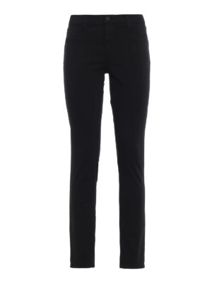J Brand: skinny jeans - 485 mid-rise super skinny jeans