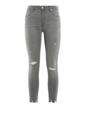 J Brand: skinny jeans - Alana high-rise crop jeans