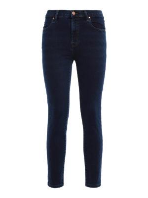 J Brand: skinny jeans - Alana high-rise crop jeans