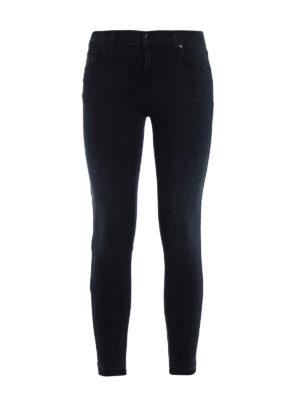 J Brand: skinny jeans - Capri destruct denim jeans