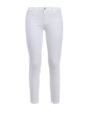 J Brand: skinny jeans - Capri stretch cotton jeans