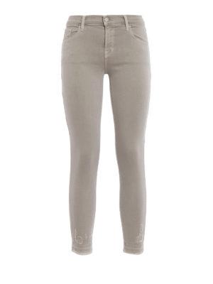 J Brand: skinny jeans - Capri super stretch mid-rise jeans