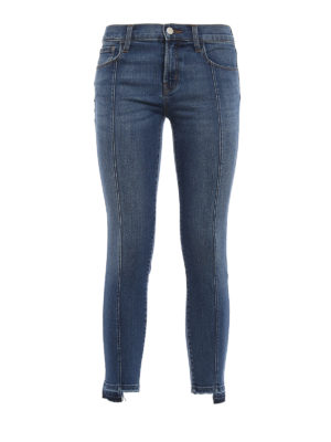J Brand: skinny jeans - Frayed bottom jeans