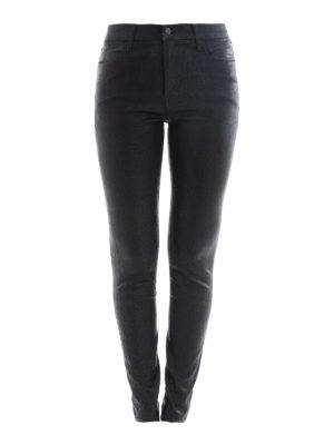 J Brand: skinny jeans - Maria high-rise super skinny jeans