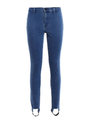 J Brand: skinny jeans - Maria jeggings with stirrup