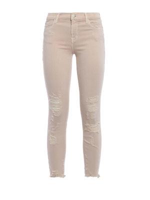 J Brand: skinny jeans - Mid rise crop jeans