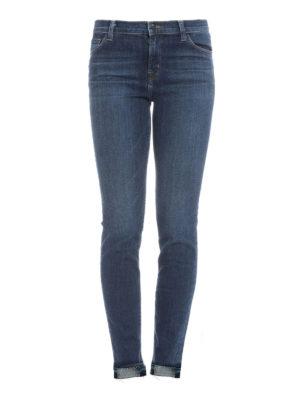 J Brand: skinny jeans - Mid-rise skinny jeans