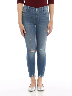 J Brand: skinny jeans online - Alana high-rise and crop jeans