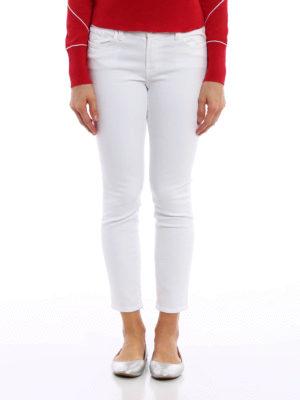 J Brand: skinny jeans online - Capri stretch cotton jeans
