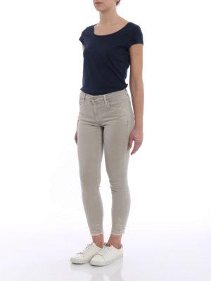 J Brand: skinny jeans online - Capri super stretch mid-rise jeans