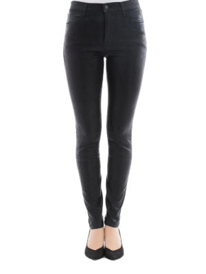 J Brand: skinny jeans online - Maria high-rise super skinny jeans