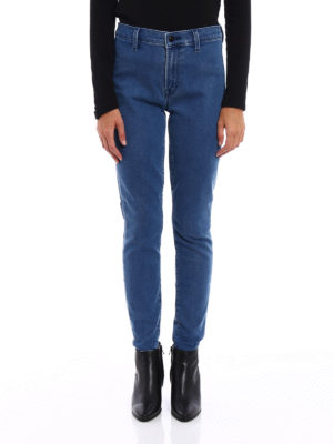 J Brand: skinny jeans online - Maria jeggings with stirrup