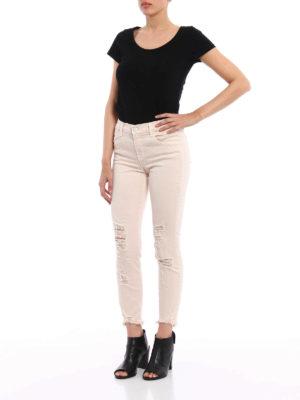 J Brand: skinny jeans online - Mid rise crop jeans