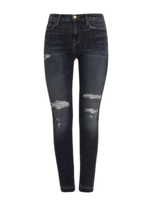 J Brand: skinny jeans - Ripped skinny jeans