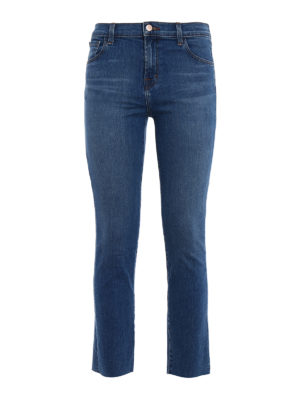 J Brand: skinny jeans - Ruby cigarette crop jeans