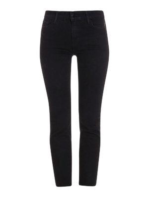 J Brand: straight leg jeans - Amelia black jeans