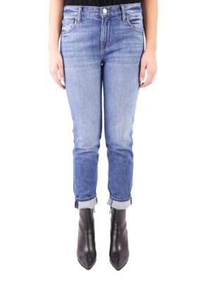 J Brand: straight leg jeans online - Johnny medium wash denim jeans