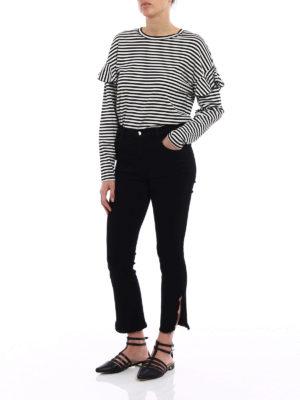 J Brand: straight leg jeans online - Ruby black jeans