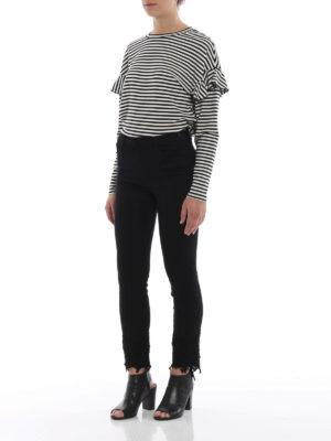 J Brand: straight leg jeans online - Ruby crop cigarette jeans