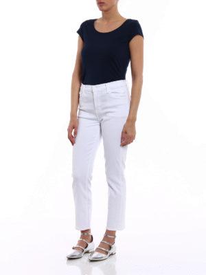 J Brand: straight leg jeans online - Ruby white jeans