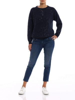 J Brand: straight leg jeans online - Sadey cropped slim jeans