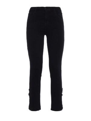 J Brand: straight leg jeans - Ruby black jeans