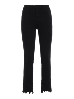 J Brand: straight leg jeans - Ruby crop cigarette jeans