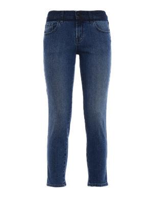 J Brand: straight leg jeans - Sadey cropped slim jeans